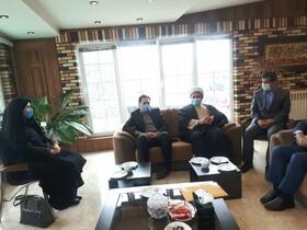 نشست مدیرکل بهزیستی گیلان با  شهردار و اعضای شورای شهر لاهیجان