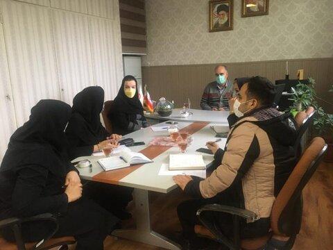 پاکدشت| جلسه هم اندیشی با مددکاران بهزیستی