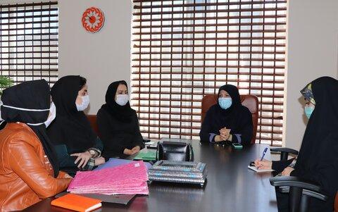آمل ׀ جلسه توجیهی پایش پرونده های سطح دو کودکان کار برگزار شد