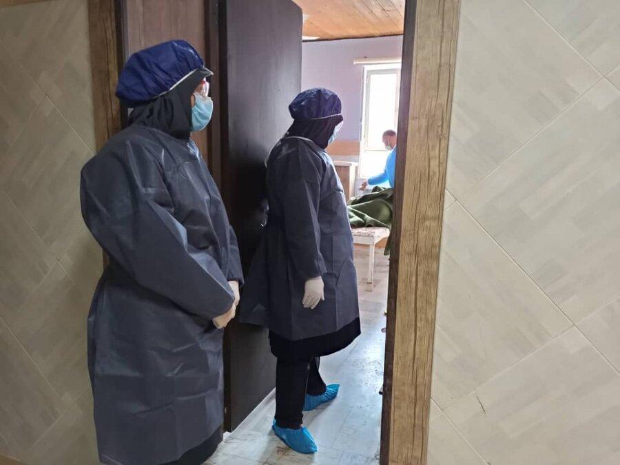 بازدید از مرکز توانبخشی - مراقبتی بیماران روانی مزمن آسایش شهرستان رشت