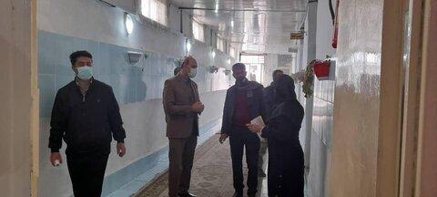 گزارش تصویری| بازدید از کمپ ترک اعتیاد