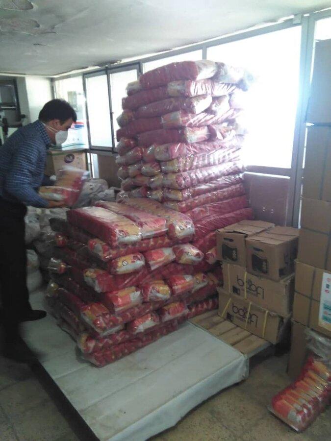 دماوند  ۱۴۰۰ سبد کالا میان مددجویان