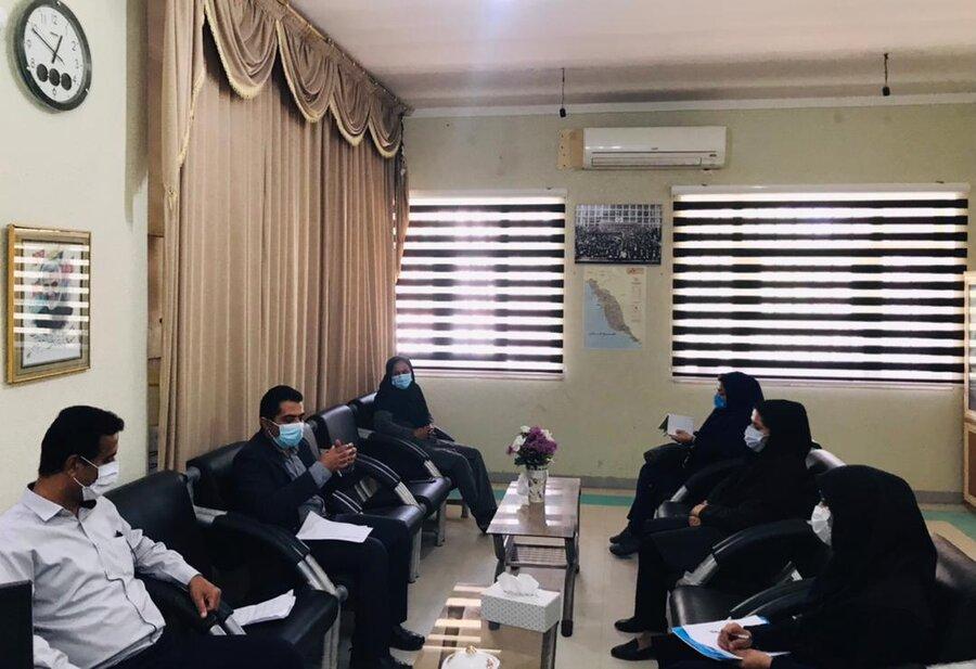 دیر|نشست بررسی آسیب های اجتماعی با رویکرد طلاق در بهزیستی شهرستان دیّر برگزار شد