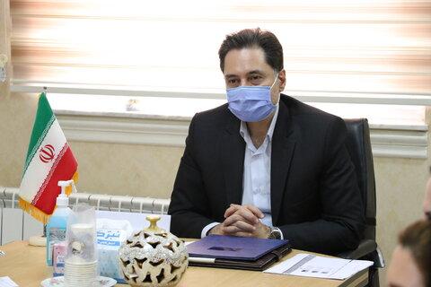 دیدار صمیمانه مدیر کل بهزیستی استان گیلان با مددکاران اجتماعی