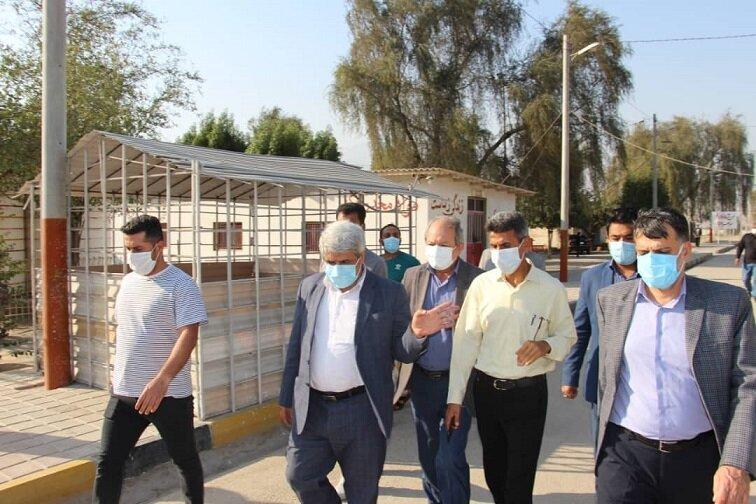 بازدید میدانی مسئولین استانی از مراکز تحت نظارت بهزیستی هرمزگان