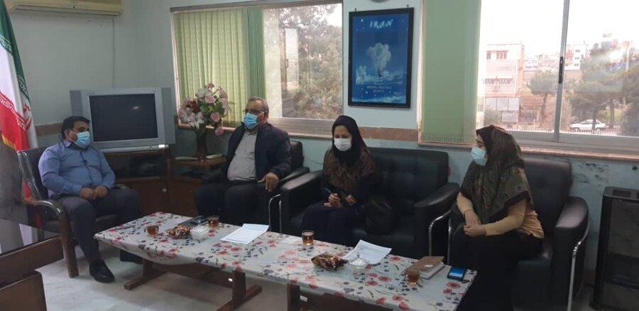 کلاله  | تفاهم نامه همکاری بین بهزیستی و شبکه بهداشت و درمان شهرستان امضا شد