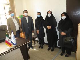 دیدار رییس کانون وکلای دادگستری بوشهر با سرپرست مدیریت بهزیستی شهرستان بوشهر