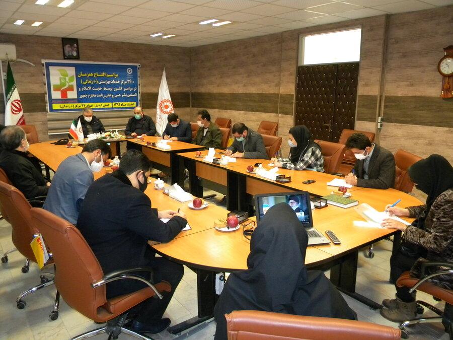 ۴۴ مجتمع خدمات بهزیستی در اردبیل افتتاح شد