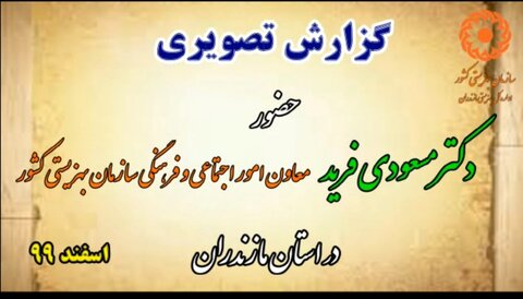 کلیپ│ سفر معاون امور اجتماعی سازمان بهزیستی کشور به استان مازندران