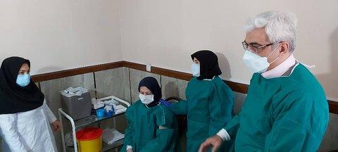 گزارش تصویری| آغاز واکسیناسیون سالمندان مراکز بهزیستی استان آذربایجان شرقی