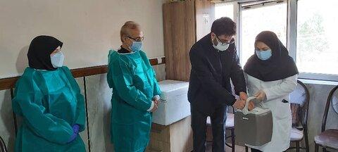 آغاز واکسیناسیون کووید ۱۹ سالمندان  مراکز نگهداری بهزیستی آذربایجان شرقی