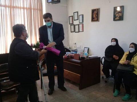 مدیر بهزیستی گرگان از دومرکز شنوایی سنجی  شهرستان بازدید کرد
