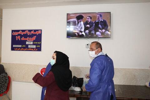 گزارش تصویری| آغاز مرحله اول واکسیناسیون سالمندان مراکز شبانه روزی استان چهارمحال و بختیاری