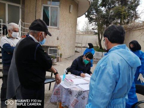 گزارش تصویری   واکسیناسیون ۱۴۰۰ نفر در مراکز نگهداری بهزیستی استان البرز