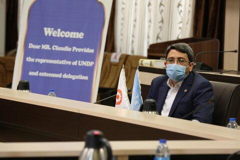 ملاقات نماینده دفتر توسعه سازمان ملل متحدUNDP در تهران با ریاست سازمان بهزیستی کشور