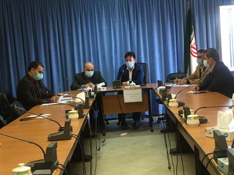 گنبد کاووس   سومین جلسه کمیته مناسب سازی مناسب سازی محیط شهری برگزار شد