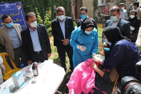 واکسیناسیون سالمندان و کارکنان مقیم مراکز شبانه روزی خوزستان