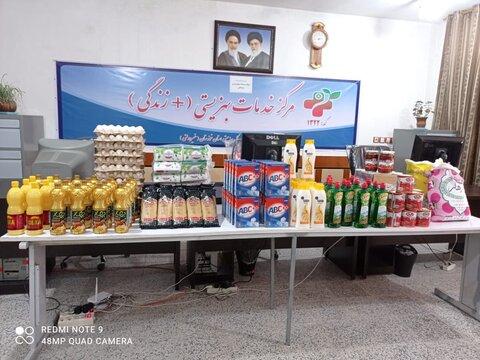 توزیع  بسته های معیشتی و اسباب بازی  بین خانوارها و کودکان امداد بگیر بهزیستی دزفول