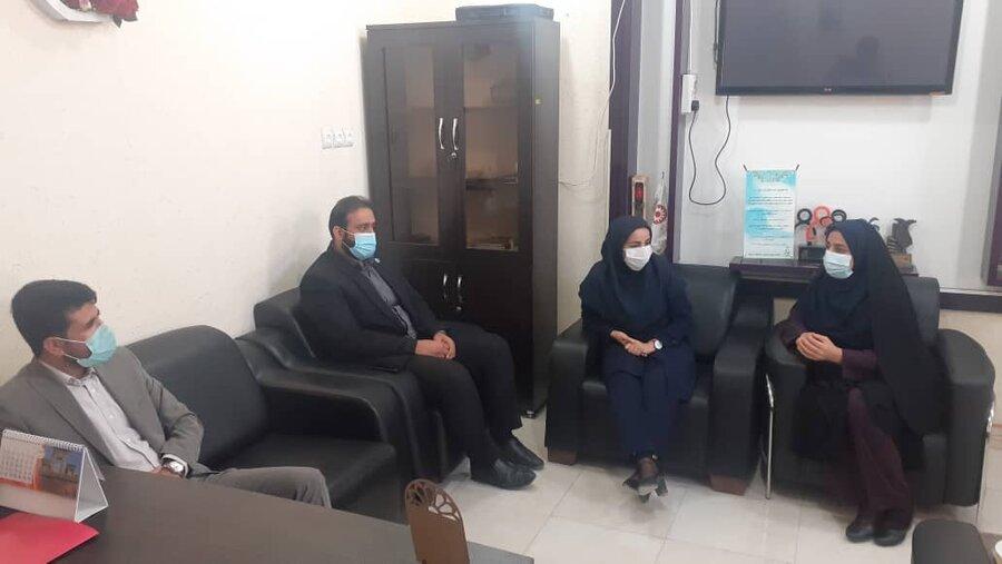 تنگستان|نشست رئیس بهزیستی تنگستان با دادستان این شهرستان برگزار شد