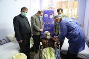 آغاز فاز اول واکسیناسیون مقیمان مستقر در مراکز نگهداری سالمندان با حضورمدیر کل بهزیستی مازندران