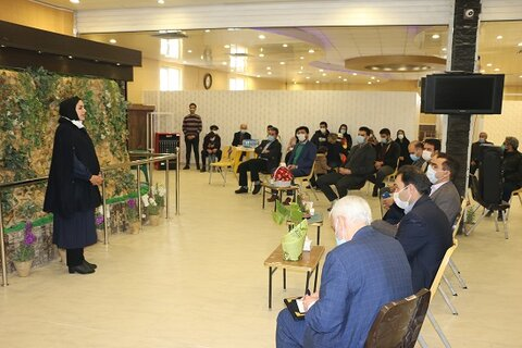 گزارش تصویری  افتتاح مرکز شبانه روزی نگهداری سالمندان خانه خورشید