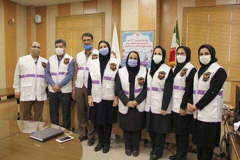 آیین تقدیر از کارشناسان منتخب مرکز فوریت های اجتماعی اورژانس بهزیستی اصفهان