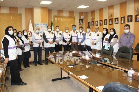گزارش تصویری| آیین تقدیر از کارشناسان منتخب مرکز فوریت های اجتماعی اورژانس بهزیستی اصفهان