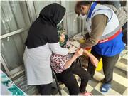 سالمندان مراکز توانبخشی بهزیستی استان قزوین مقابل کرونا واکسینه شدند