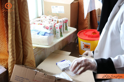 گزارش تصویری | واکسیناسیون سالمندان گلستانی علیه کرونا