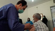 شاهرود | تزریق واکسن کرونای سالمندان در شهرستان