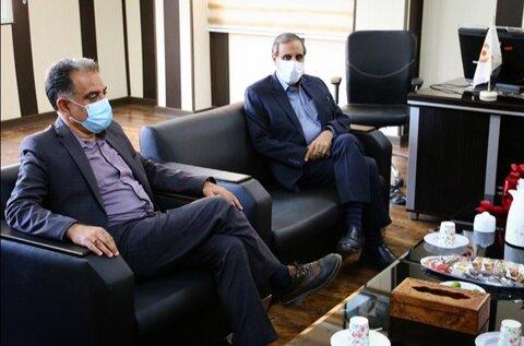 نشست سرپرست بهزیستی استان با نماینده مردم هرمزگان در مجلس شورای اسلامی