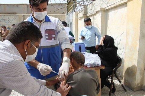 گزارش تصویری| تزریق واکسن