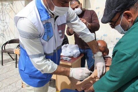 گزارش تصویری تزریق واکسن