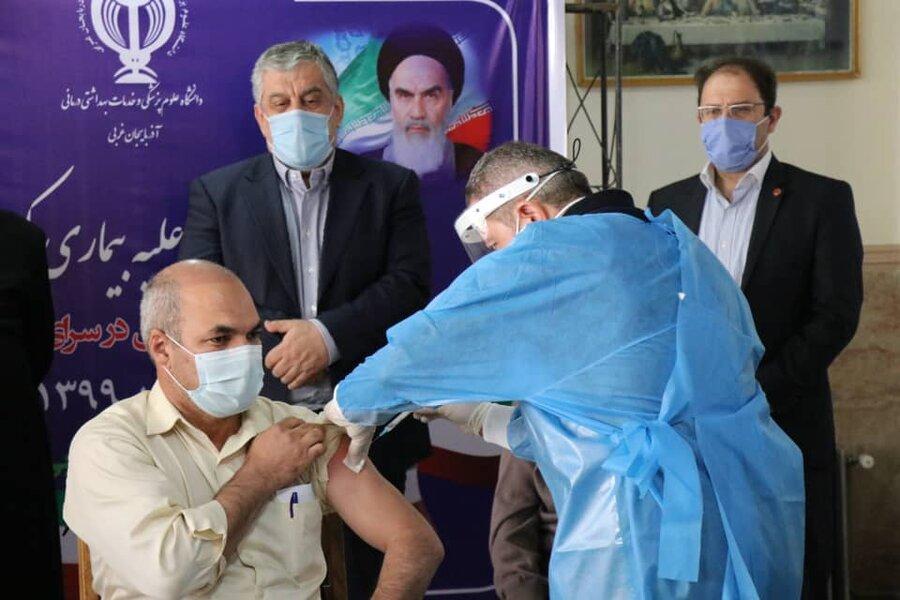 آغاز واکسیناسیون سالمندان در مراکز شبانهروزی بهزیستی استان آذربایجان غربی