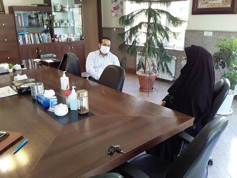 گلپایگان| جمع آوری کمکهای مومنانه از طریق دیدار با مدیران کارخانجات و صنوف