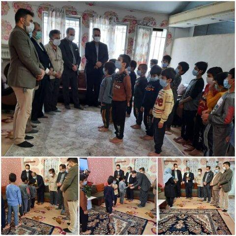نظرآباد | بازدید فرماندار شهرستان نظرآباد از مرکز نگه داری کودکان بی سرپرست