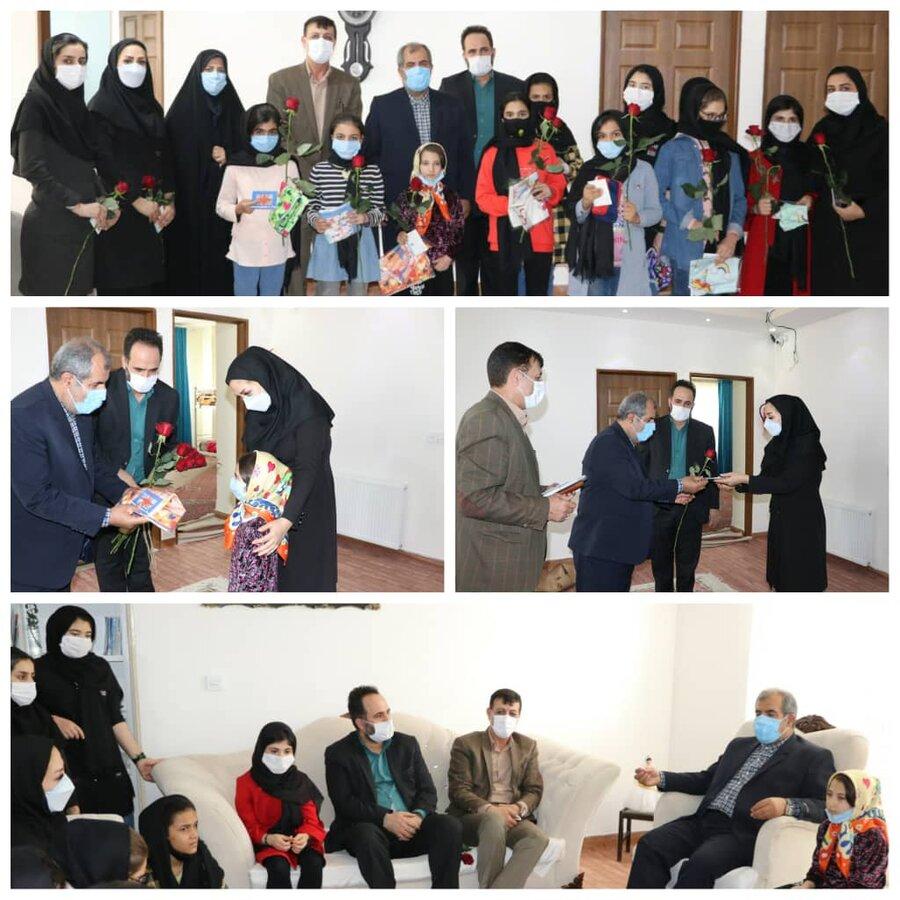 نظرآباد | بازدید از مرکز نگهداری دختران طلوع مهرعلی با حضور فرماندار نظرآباد