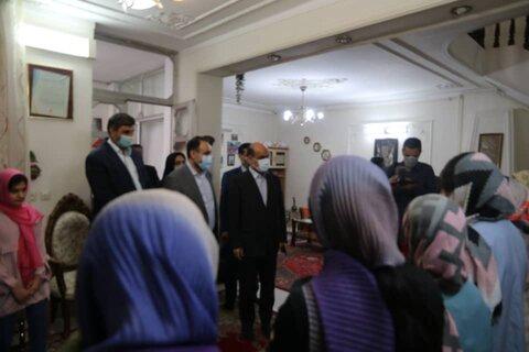گزارش تصویری | بازدید عیدانه استاندار گلستان و مدیرکل بهزیستی