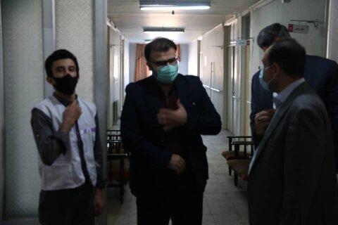 گزارش تصویری | بازدید مدیرکل بهزیستی گلستان از مرکز اورژانس اجتماعی مرکز استان