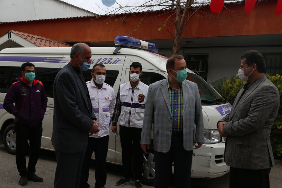 گزارش تصویری ׀ بازدید نوروزی مدیر کل بهزیستی مازندران از مر کز صدای مشاور و  اورژانس اجتماعی