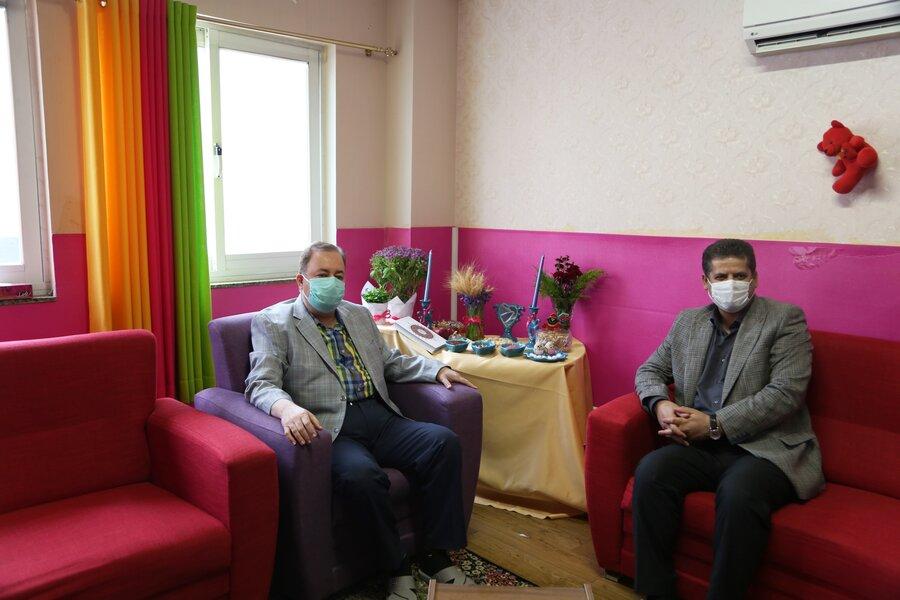 بازدید مدیر کل بهزیستی مازندران از شیرخوارگاه