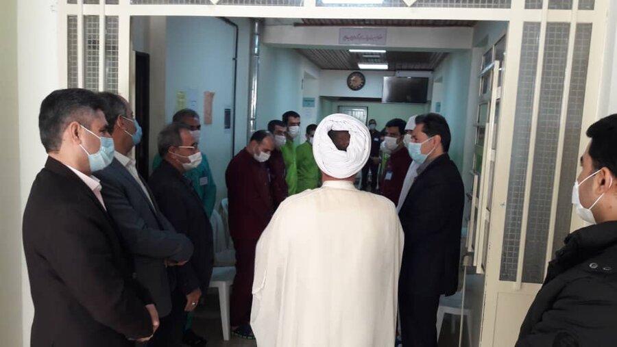 بازدید نوروزی مدیرکل بهزیستی گیلان  از مرکز نگهداری ، درمان و کاهش آسیب ماده ۱۶ استان