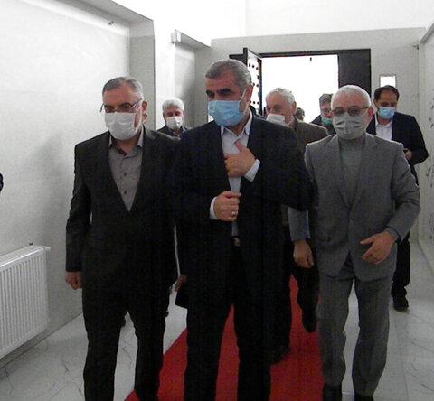 گزارش تصویری ا دیدار نوروزی نایب رییس مجلس شورای اسلامی از خانه شکوفه ها استان اردبیل