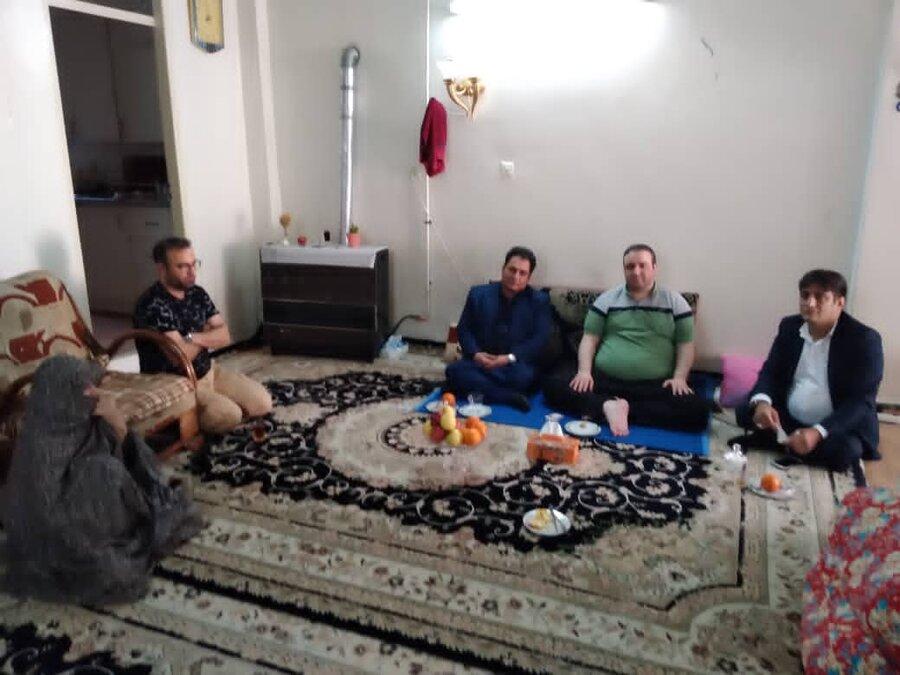 اسلامشهر| تحویل سال در منزل یکی از اعضای خانواده بهزیستی