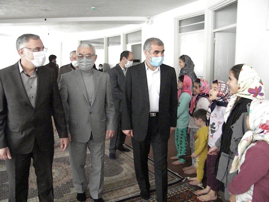 اردبیل- بازدید نایب رییس مجلس از خانه شکوفههای اردبیل