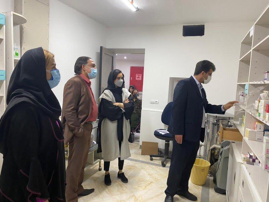 شمیرانات  سرپرست بهزیستی شهرستان در مراکز توانبخشی حضور یافت