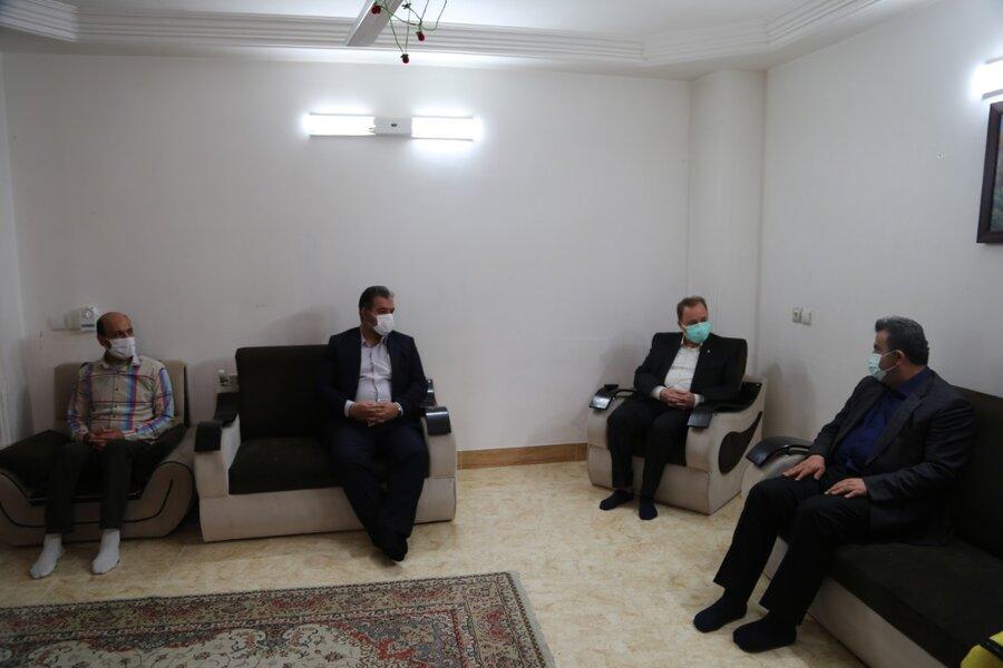 بازدید استاندار مازندران از مرکز شبه خانواده
