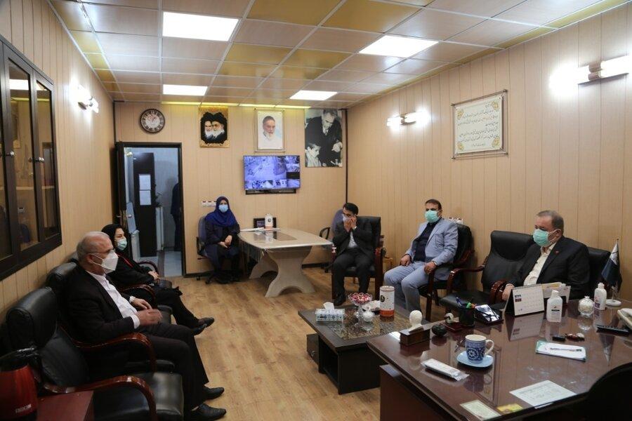 بازدید مدیرکل بهزیستی مازندران از مرکز نگهداری معلولین نوشیروانی بابل