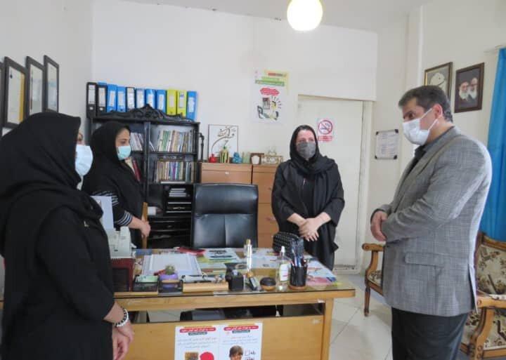 ساری | بازدید عیدانه مدیر بهزیستی شهرستان ساری از مراکز بهزیستی