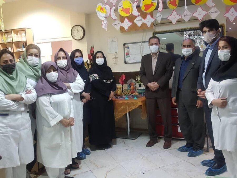 حضور مدیر کل بهزیستی استان در مرکز توانبخشی رفیده